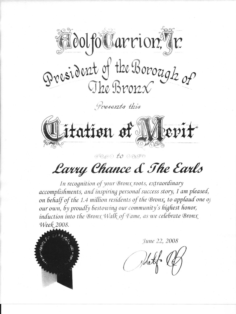 bronx-citation-of-merit